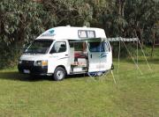 2-3 Berth Economy - The Funkampa campervan hire australia