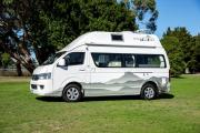 Foton Adventurer campervan rental new zealand
