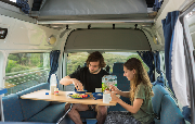 3 Berth Highball campervan hire - new zealand