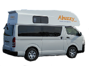 Abuzzy 4 Berth Top motorhome rentalnew zealand