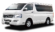Toyota Hiace Slwb Commuter BUS Or Similar car hire australia