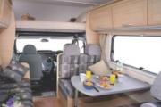 Abuzzy 6 Berth Grand campervan hire - new zealand