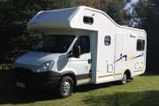 Discoverer 6 - Auto camper hire south africa