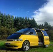 Bumble Campers UK 2seat 2sleep motorhome rental united kingdom
