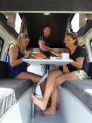 Kuga Camper campervan hire - new zealand