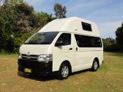 Kuga Camper campervan rental new zealand
