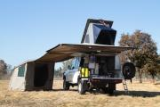 Avis Safari South Africa  Land Cruiser D/Cab 4x4 Luxury Safari Camper (C)