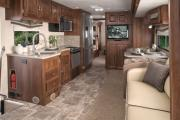 Outdoor Travel Class A 35' with Slideout & Bunks Premium motorhome motorhome and rv travel