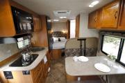 MH 23 ft Non-Slide Class C rv rental - canada