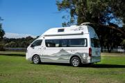 Nomad Motorhome and Car Rentals Foton Adventurer new zealand camper hire