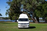 Nomad Motorhome and Car Rentals Foton Adventurer campervan hire christchurch