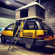 Bumble Campers UK 4seat 4sleep motorhome rental united kingdom