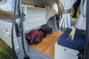 Spaceships NZ Dream Sleeper Mini new zealand camper van hire