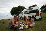 Mighty Campers NZ International 3 Berth Highball motorhome rental new zealand