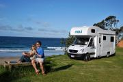 Maui Motorhomes NZ Maui Platinum Beach Motorhome campervan rental new zealand
