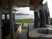 Coastal Campers New Zealand 2 Berth Campervan motorhome rental new zealand