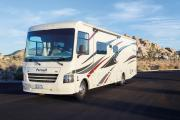 AF34 Class A Motorhome with Slide rv rental - usa