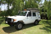 Britz Campervan Rentals AU (Domestic) Safari Landcruiser 4WD campervan rental cairns