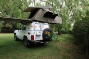 Britz Campervan Rentals AU (Domestic) Safari Landcruiser 4WD campervan hire australia