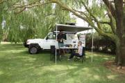 Britz Campervan Rentals AU (Domestic) Safari Landcruiser 4WD motorhome hire brisbane