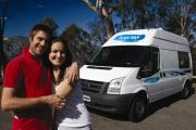 2 Berth ST campervan hiredarwin