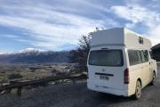 Lucky Rambler campervan hire - new zealand
