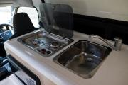 Britz Campervan Rentals (Intl) 3 Berth - Hitop campervan rental new zealand
