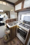 2 Berth Rainbow motorhome rental - uk