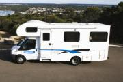 Cheapa Campa AU International 6 Berth Motorhome campervan hire alice springs