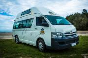 Happy Hi 5 new zealand airport campervan hire