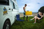 Happy Campers NZ Happy Hi 5 new zealand airport campervan hire