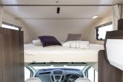 Just Go Motorhomes UK 6 Berth Rear Bunk  Bed Motorhome