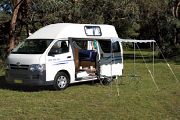 Energi Motorhomes Australia 3 Berth: The Princess australia discount campervan rental