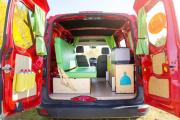 Happy Campers Happy 1-Ford Transit Connect or similar
