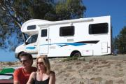 Cheapa Campa AU Domestic Cheapa 4 Berth motorhome rental australia