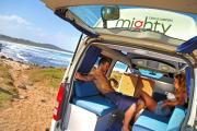 Mighty Campers 2 Berth Highball campervan rental melbourne
