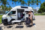 Paradise Shower & Toilet(All Inclusive)$500 EXCESS campervan hire australia