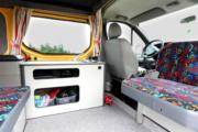 Happy Campers Happy 3-Renault Trafic High Roof or similar worldwide motorhome and rv travel