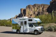 C19 - Compact Motorhome rv rental los angeles