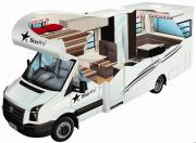 Pandora RV - 4 Berth motorhome hirebrisbane