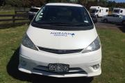 Nomad Motorhome and Car Rentals Nomad Sleepervan new zealand airport campervan hire