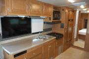 Traveland RV Rentals Ltd 31' Class C worldwide motorhome and rv travel