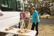 Maui Motorhomes AU (domestic) Maui Ultima Plus: 2+1 Berth Motorhome campervan hire hobart