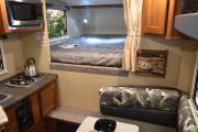 Wild Campers USA 3 Berth Truck Camper - Indie Camper rv rental san francisco