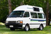 Budget Campers 2/3 Berth Hi Top Budget Finder campervan rental new zealand