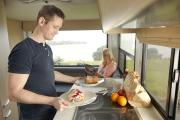 4 Berth - Discovery campervan hire - new zealand