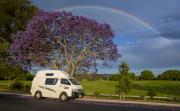 Hippie Camper NZ International Hippie Endeavour Camper campervan rental new zealand