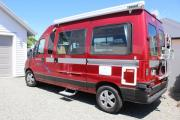 2 berth Fiat S/T campervan rental new zealand