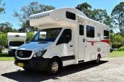 Mercedes Deluxe - 6 Berth Winnebago Van campervan hire australia