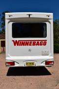 Advance Campervan Rental Mercedes Deluxe - 6 Berth Winnebago Van australia discount campervan rental